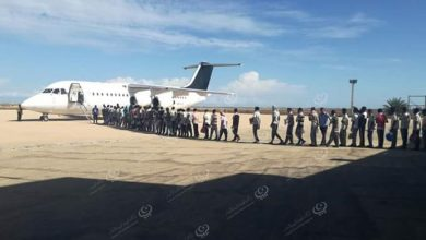 Photo of Deporting 60 migrants leave Libya from Misrata Airport