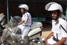 Photo of Graduation of motorcyclists in security department of Tokra