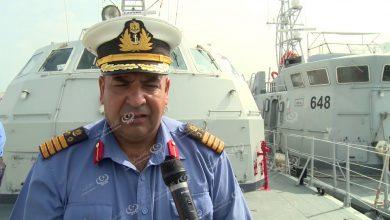 Photo of Libyan Coast Guard receives boat in Tripoli