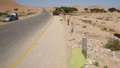 Photo of Maintenance of road south of the Mizda