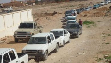 Photo of Severe congestion on fuel stations inside the compressor