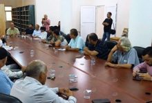 Photo of Discussion of establishment of a civilian body in Zuwarah