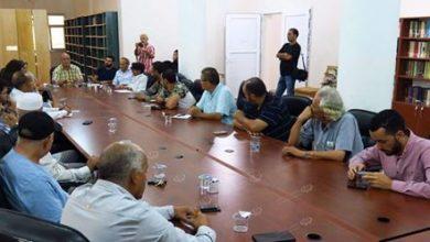 Photo of Discussion of establishment of a civilian body in Zuwarah