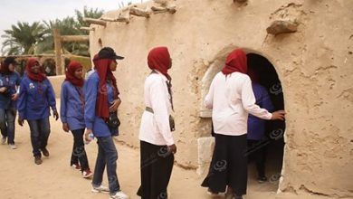 Photo of Benghazi scouts visit cities of the oases