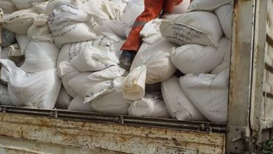 Photo of 75,000 kilos of salt seized in Misrata