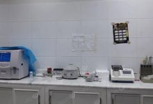 Photo of Tukra village hospital laboratory suffers from severe shortage of medical analysis materials