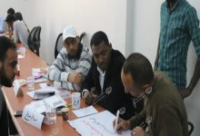 Photo of Workshop on combating discourse of violence and hatred of bloggers in Sabha