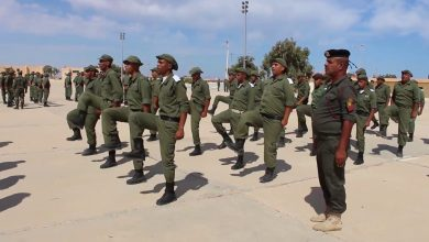 Photo of Military exercises continue for guards of oil installations in Tobruk