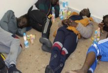 Photo of 10 migrants rescued off the coast of Misrata