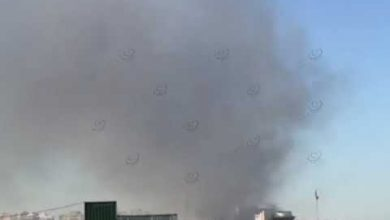 Photo of Shooting and heavy smoke near Foreign Ministry in Tripoli