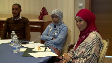 Photo of Training in psychological support for group of youth of Tawergha