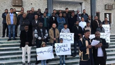 Photo of Second protest in Jalo town against government decision to replace the Municipal Council