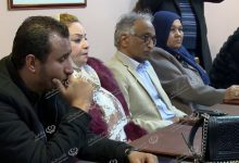 Photo of Meeting to announce the program of the first conference on the displaced persons