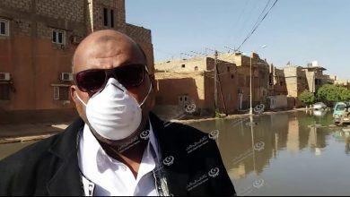Photo of Wastewater rash threatens an environmental in Mahdia district in Sabha