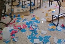 Photo of Attacks and vandalism of polling stations in Tamazawa district of Al Qaradah Al Shati municipality