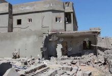 Photo of Houses hit by rocket shells