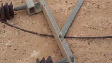 Photo of Wire between Sabha and Wadi Al-Shati was cut off by strong winds