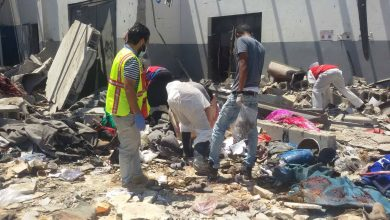 Photo of Recovering of remains of victims in Tajoura goes on