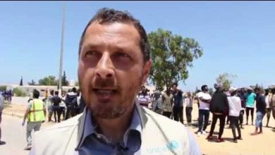 Photo of Head of the Refugee Mission in Libya: We are working to deport migrants to safe places
