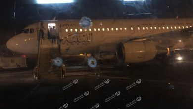 Photo of Suspension of air traffic at Mitiga International Airport after shelling and continous fighting in the south Tripoli