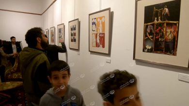 Photo of Visual arts exhibition held at Eskender Arts House