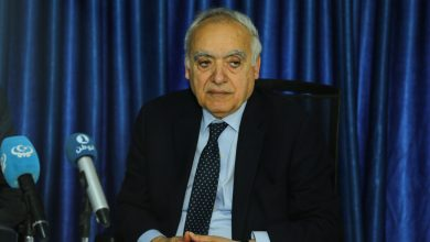 Photo of Ghassan Salame briefs the UN Security Council on Libya