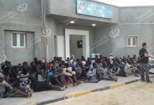 Photo of 29 immigrants rescued off Zuwarah