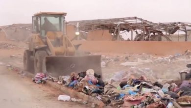 Photo of Clean-up campaign in Bani Walid town