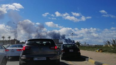 Photo of Shells Hit Tripoli Port
