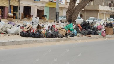 Photo of Garbage piles up in Ajdabiya city