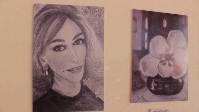 Photo of A fine art exhibition held in Benghazi