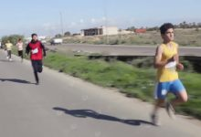 Photo of Marathon held in Qaminis town