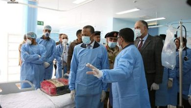 Photo of Alhawari General Hospital in Benghazi reopened