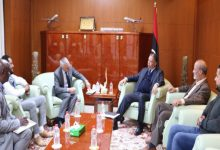 Photo of Minister of Transport receives IOM Chief of Mission in Libya