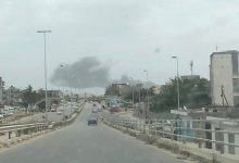 Photo of Shells fell near Mitiga Airport in Tripoli