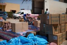 Photo of 680 families receive aid through the rapid response mechanism