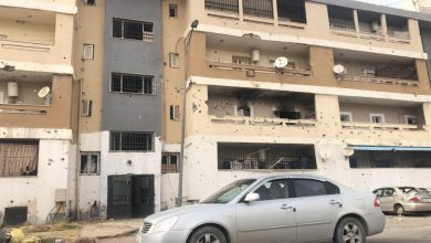 Photo of Shells hit residential areas in Tripoli