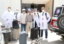 Photo of Libyan doctors leave Tripoli for Italy