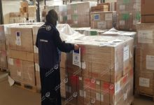 Photo of WHO sent medical supplies to Southern Libya
