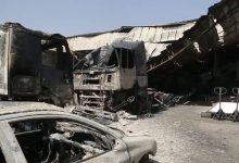 Photo of Shells hit food warehouses in south Tripoli