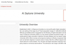 Photo of Azzaytuna University advances 1000 points in UniRank global ranking