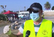 Photo of A cleaning campaign in Tripoli
