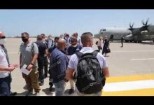 Photo of Italian military delegation arrives in Tripoli