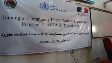 Photo of The World Health Organization held a training program in Sabha