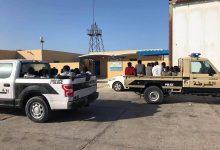 Photo of 24 irregular immigrants saved off Abu Kamash