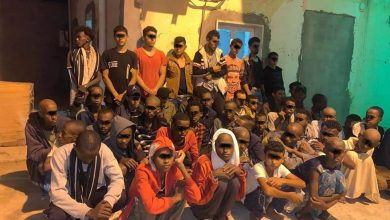 Photo of 55 irregular migrants detained in Zliten