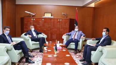 Photo of The Minister of Transport receives the Italian Ambassador