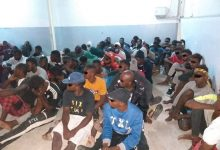 Photo of 128 illegal immigrants rescued