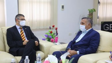 Photo of The Director of GECOL received European Union ambassador to Libya