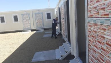 Photo of Eight Coronavirus isolation rooms opened at the Ras Ejdir border crossing